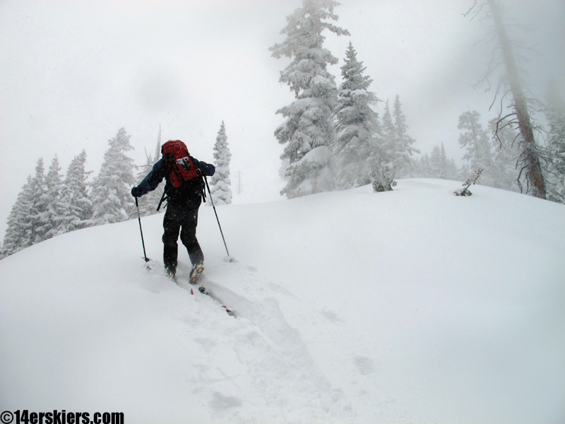 crested butte backcountry skinning
