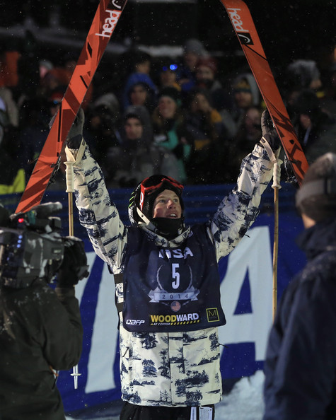 Aaron Blunck celebrating a Grand Prix win in December. (December 19, 2013 - Source: Doug Pensinger/Getty Images North America) courtesy of Zimbio