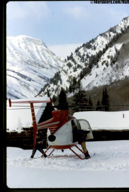 marble heli skiing colorado first tracks