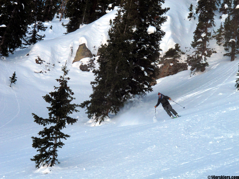 crested butte backcountry skiing josh macak