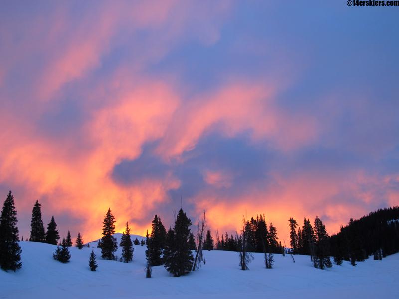 sunset at sheepshead
