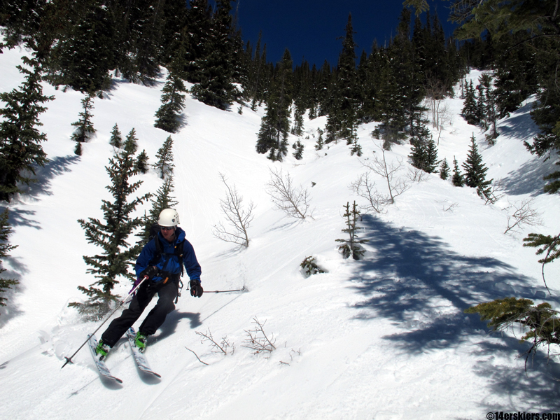 ski crested butte backcountry
