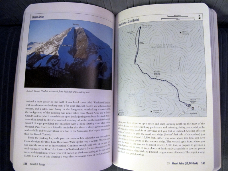 page example climbing and skiing colorado's mountains