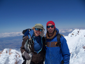 Anna & Rohan, founders of Fourteeners for Teens.