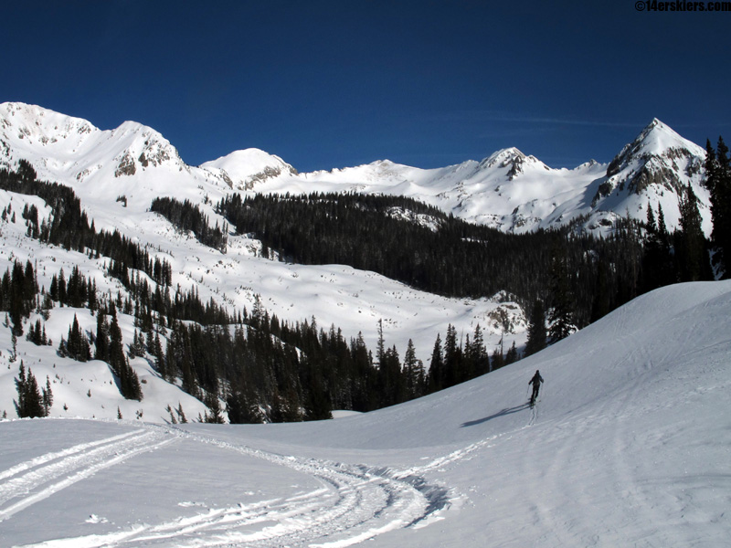 White, Whiterock, and other unnamed peaks in west brush creek