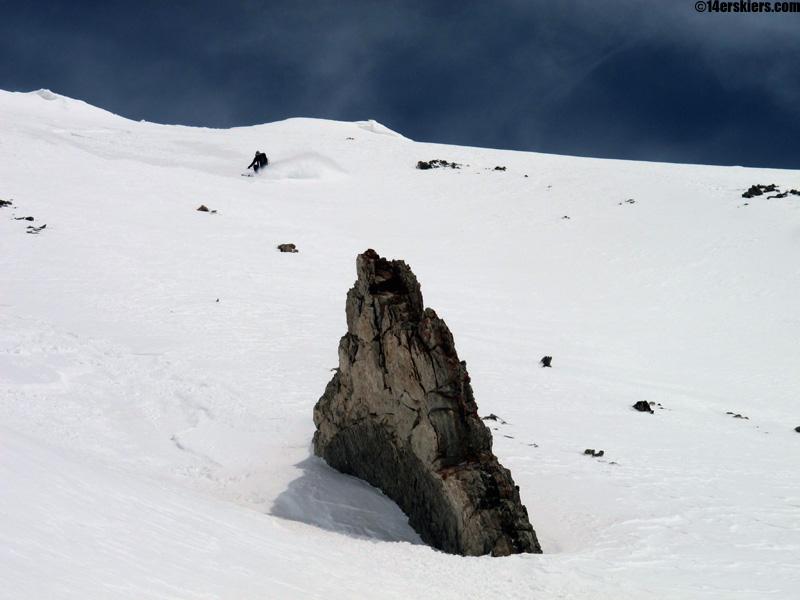 pete sowar skiing the bearclaw