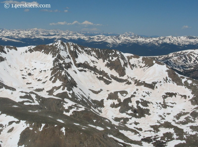 Mount Arkansas, near Leadville Colorado