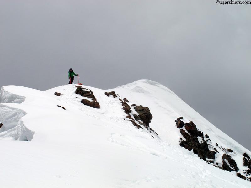 Purple peak summit