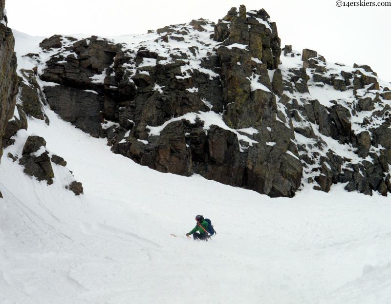alex reidman skiing purple peak