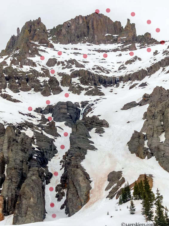 potosi climbing route