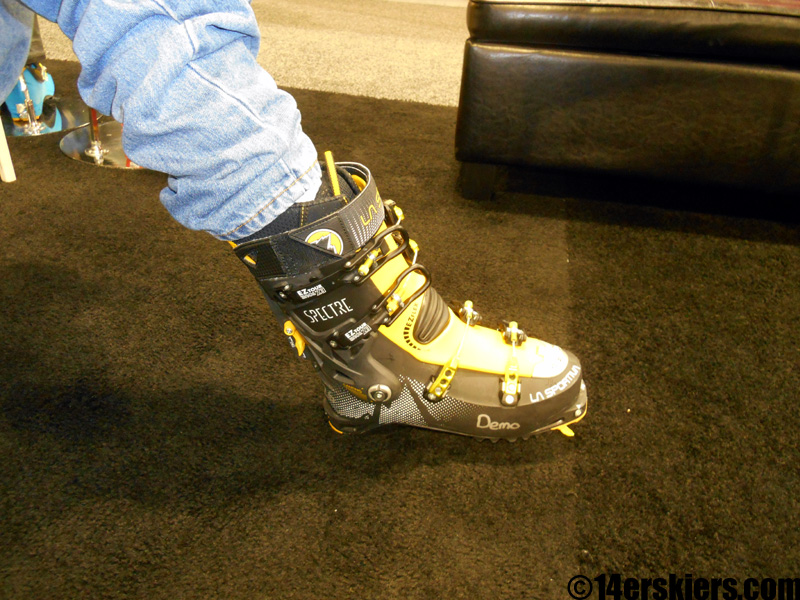 la sportiva spectre range of motion