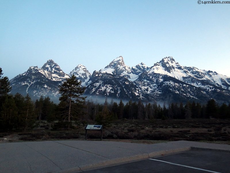 Tetons from Burnt Wagon
