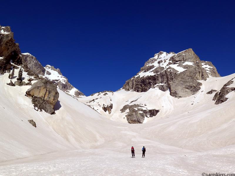 garnet canyon skiing