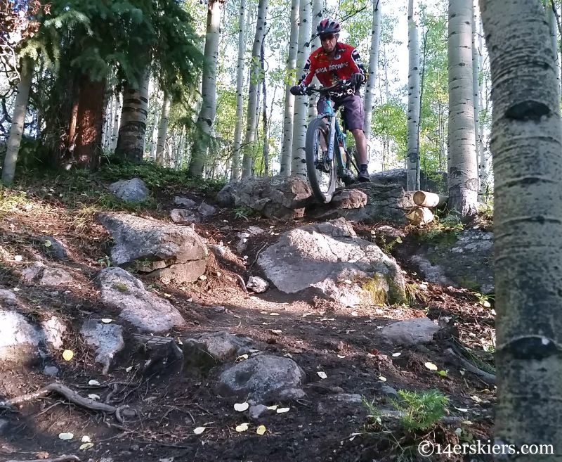 Frank Konsella riding Boulder Mason at Crested Butte Mountain Resort