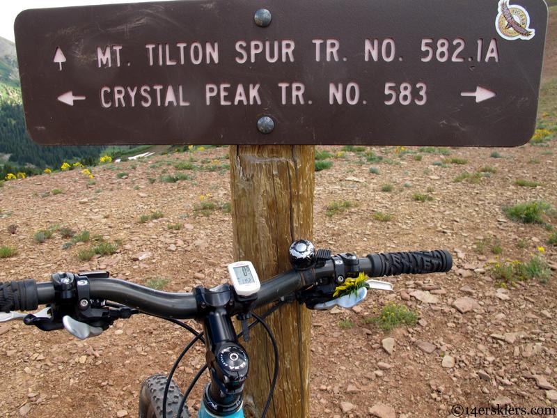 crystal peak trail