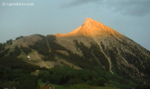 The peak at Crested Butte