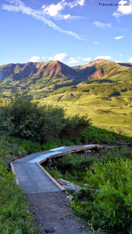 Meander trail at Crested Butte Mountain Resort