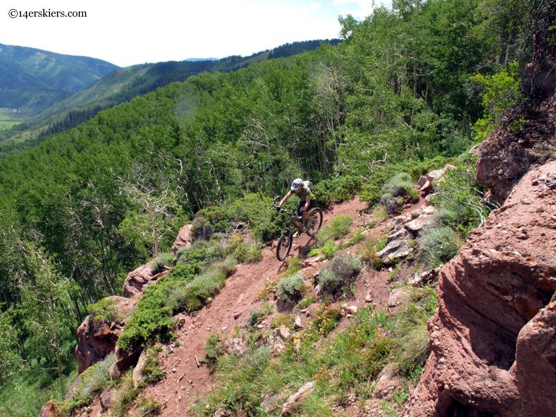 sandstone mountain trail
