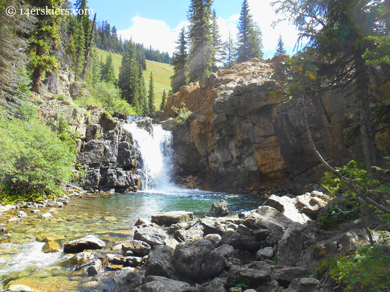 crystal river waterfall