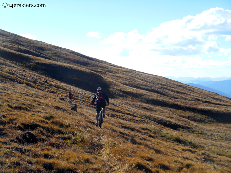 Napolean Tincup pass trail