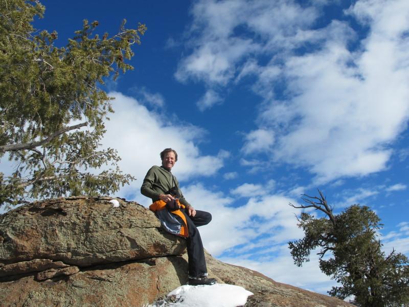 Andy Eflin enjoying the outdoors.