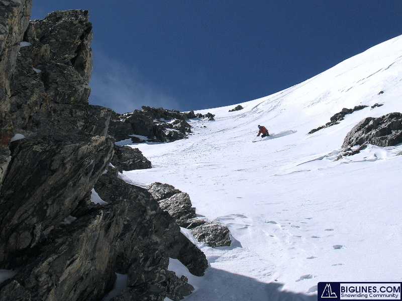 backcountry skiing Crystal Mountain in Summit County