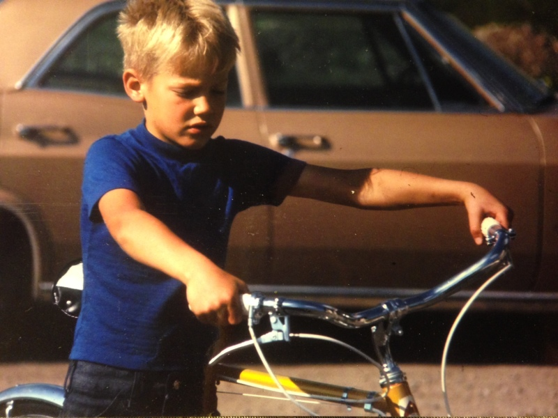 Andy Eflin as a child in Crested Butte in the 1960's