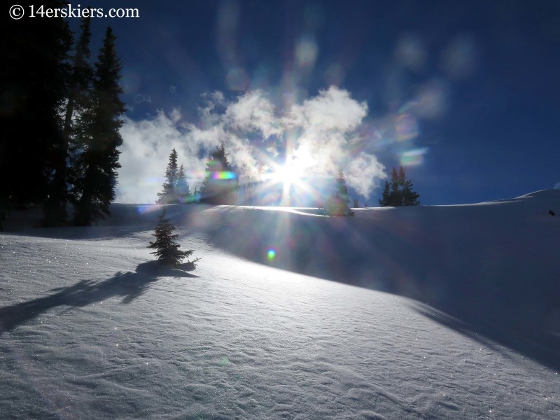 backountry skiing in Crested Butte