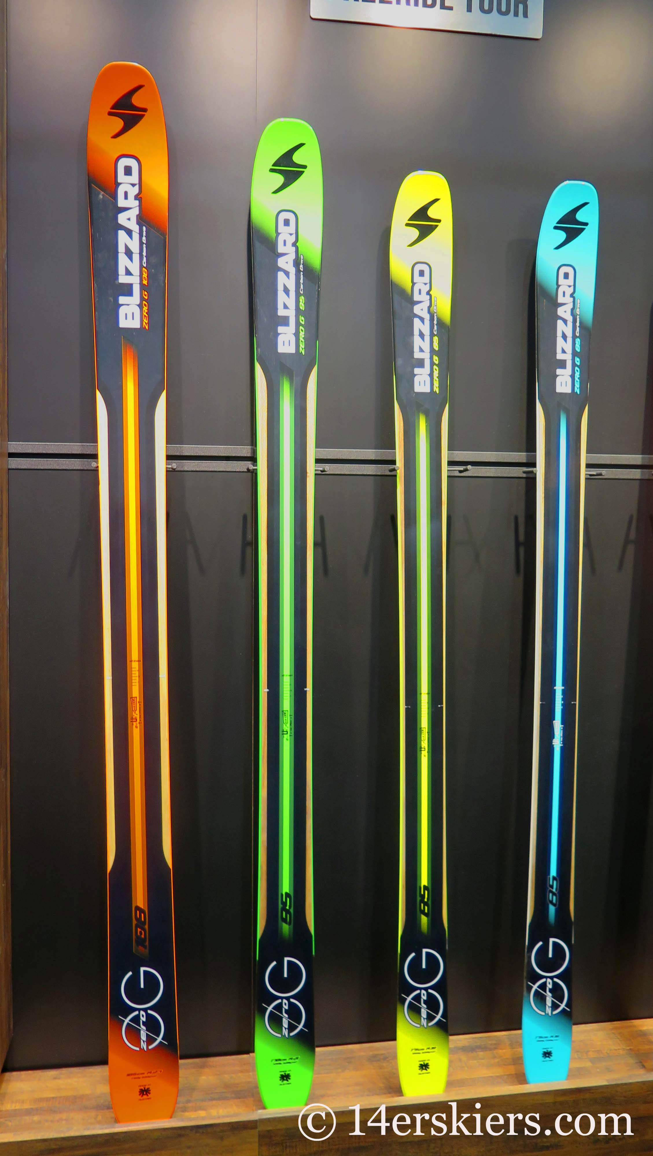 Review of the Blizzard Zero G backcountry skis