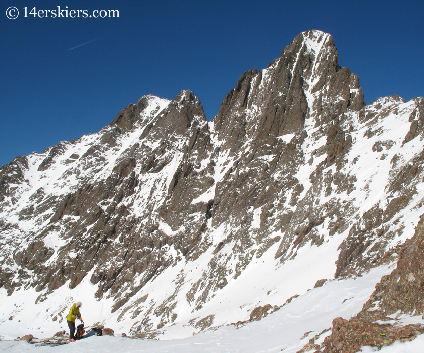 Crestone Needle and Crestone Peak
