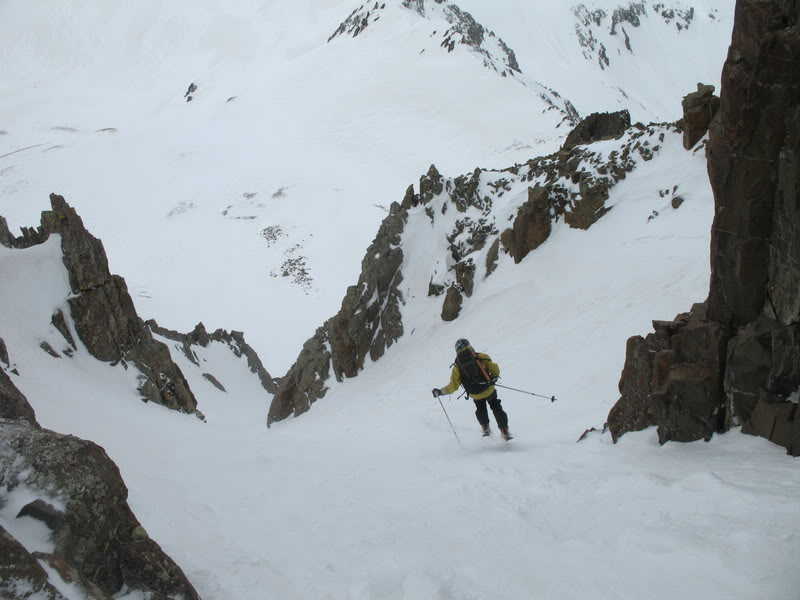 Mount Sneffels Ski - Birthday Chutes