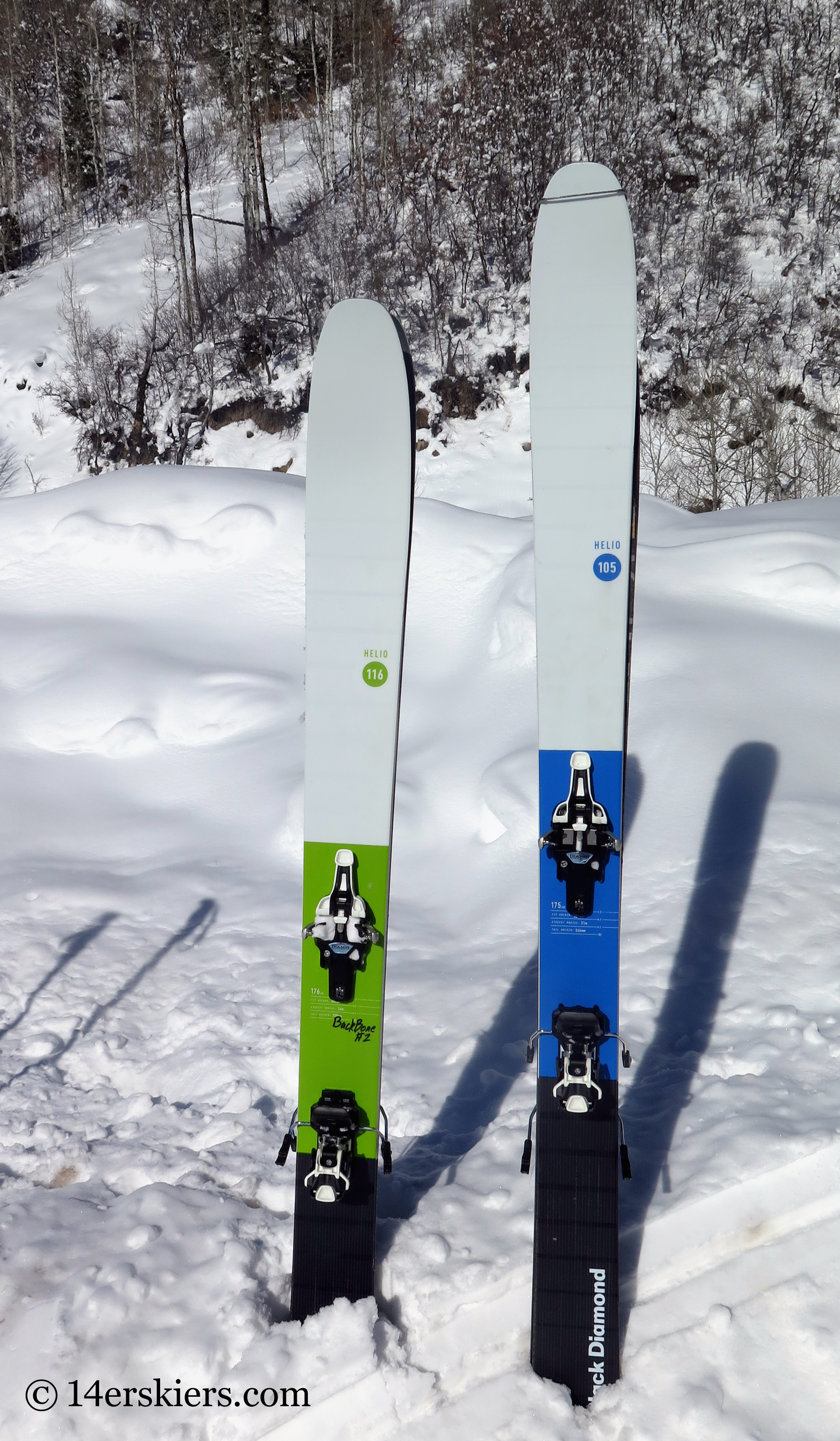 Gear Review Black Diamond Helio 105 Skis 14erskiers Com