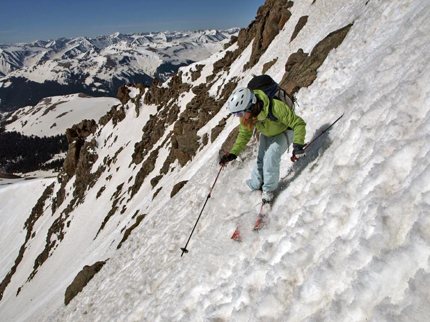 Wetterhorn Peak Ski