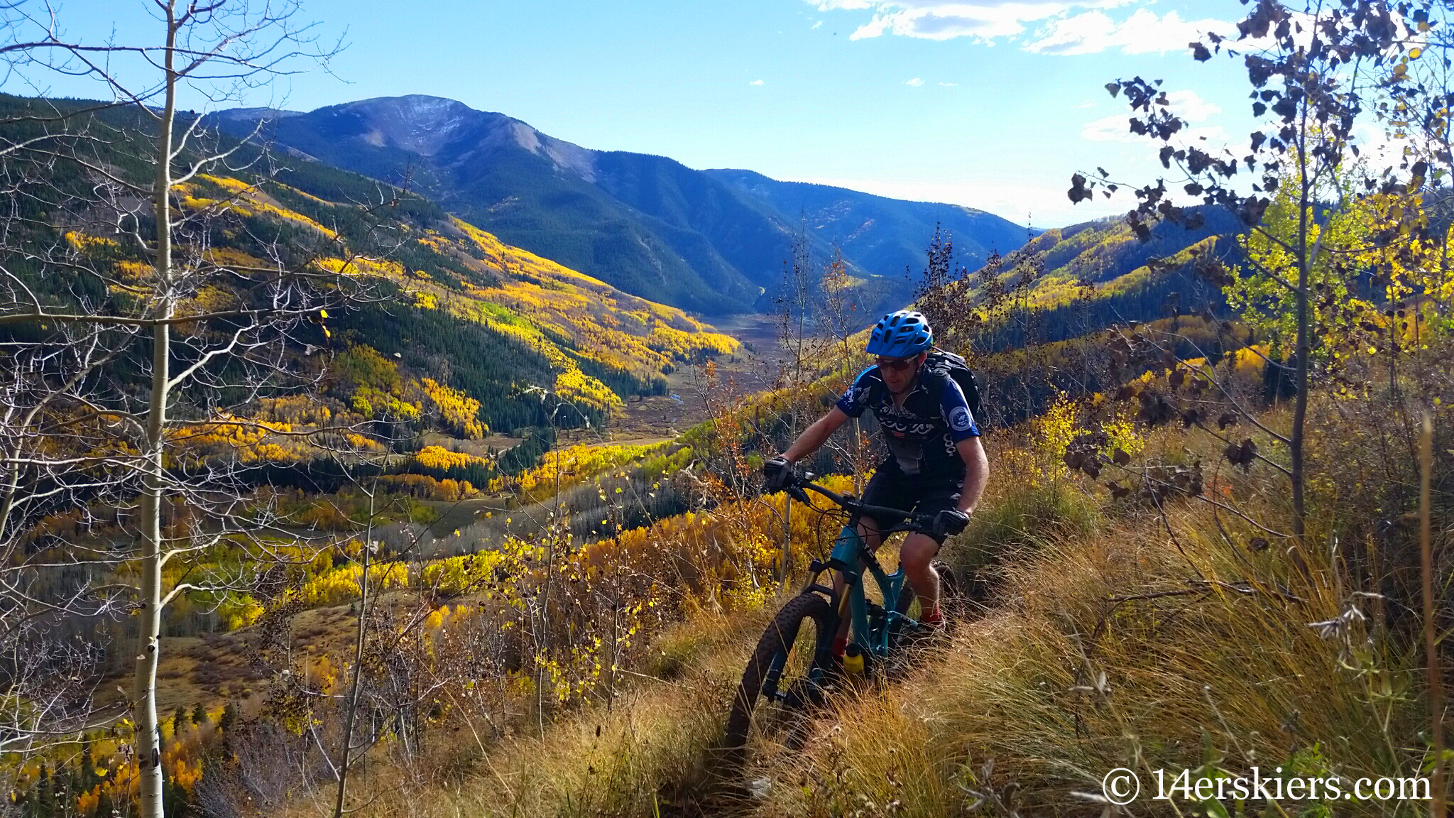 September mountain biking in Crested Butte