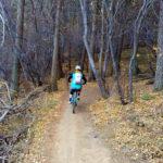 Mountain biking Enchanted Forest in Apex near Golden, CO
