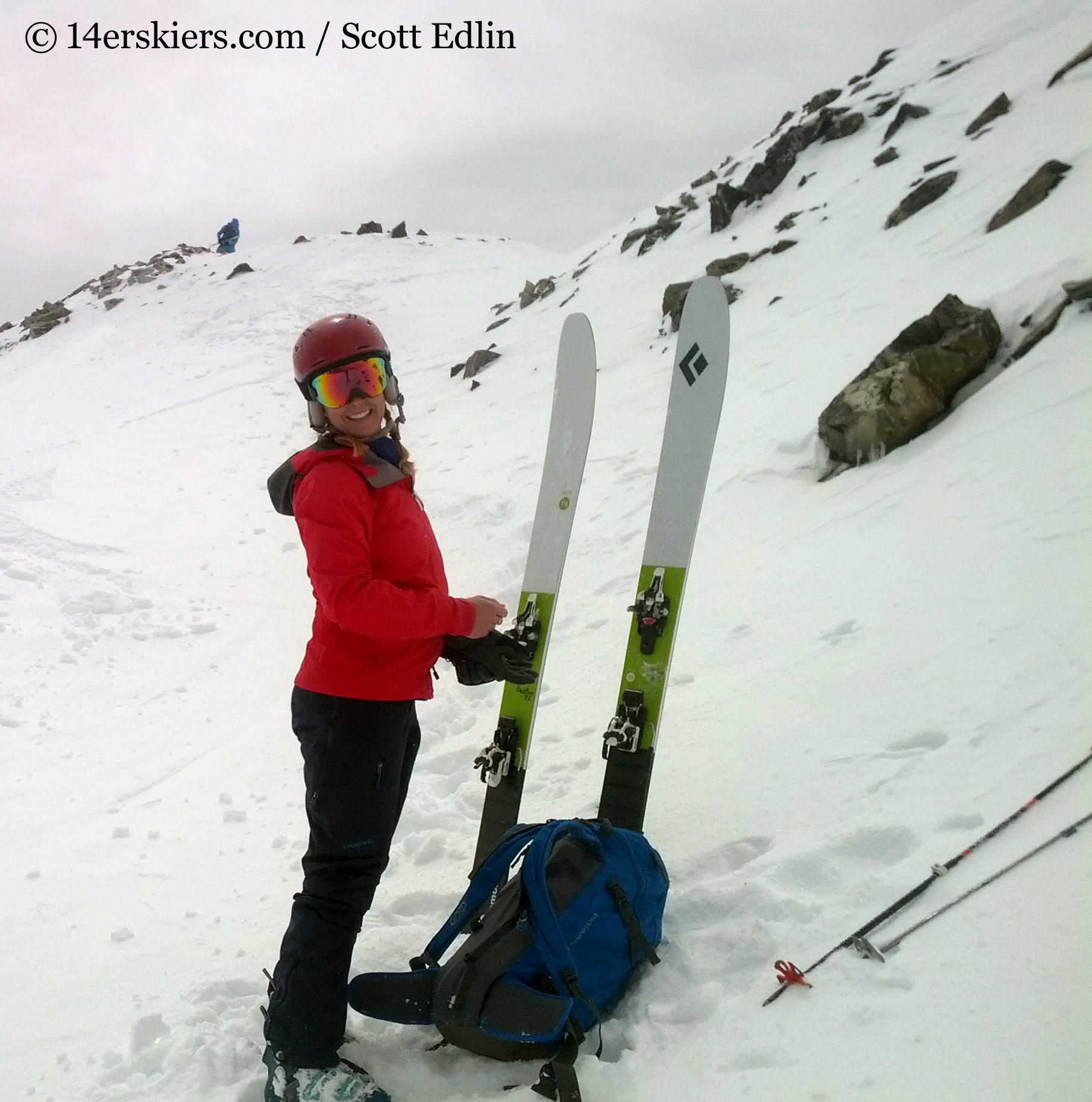 76f28cafdd Gear Review  Black Diamond Helio 116 Skis - 14erskiers.com