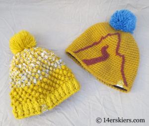 La Sportiva hats for backcountry skiing.