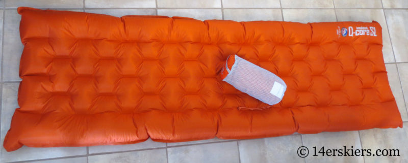 Big Agnes Q-Core sleeping pad