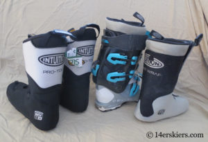 Intuition liners for ski boots