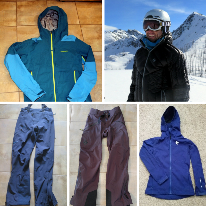 Outwerwear for backcountry skiing