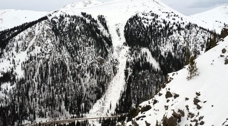 Widow Maker on Loveland Pass