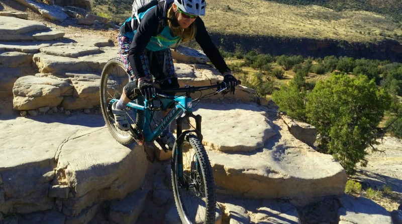 Brittany Konsella Mountain biking in Fruita