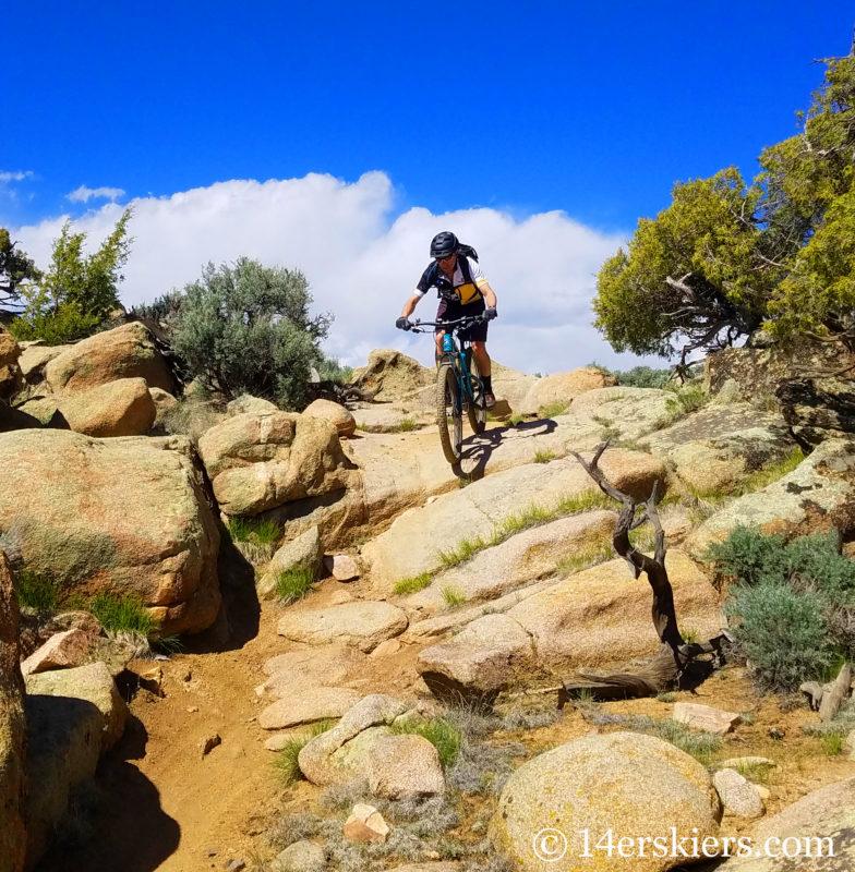 Hartman Rocks - best early season mountain bike rides near Crested Butte.