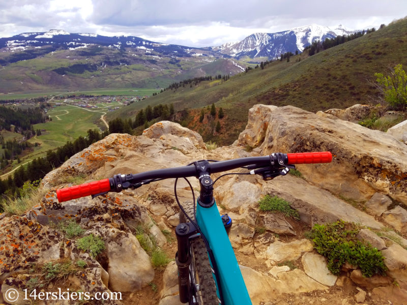 The Caves Loop - best early season hikes rides near Crested Butte.