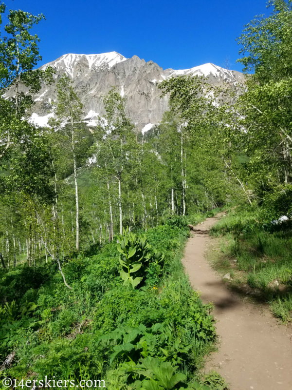 Judd Falls Trail - Early Season Hikes near Crested Butte