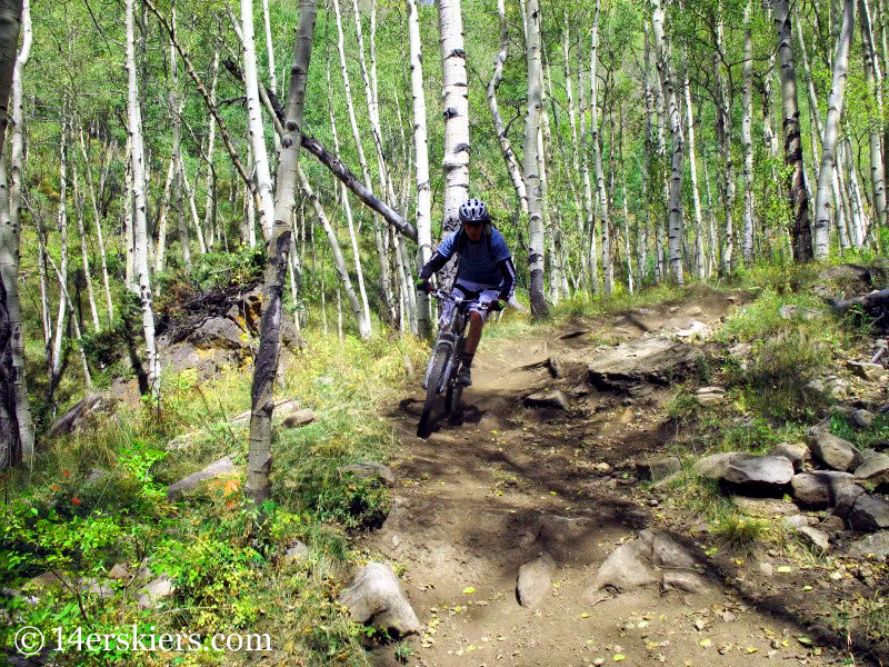 Doctor Park - favorite fall mountain bike rides near Crested Butte