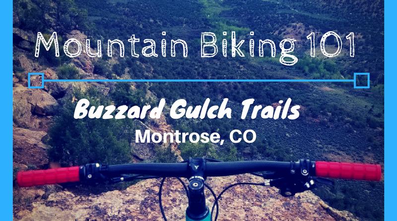 Mountain biking 101- Buzzard Gulch Trails near Montrose, CO