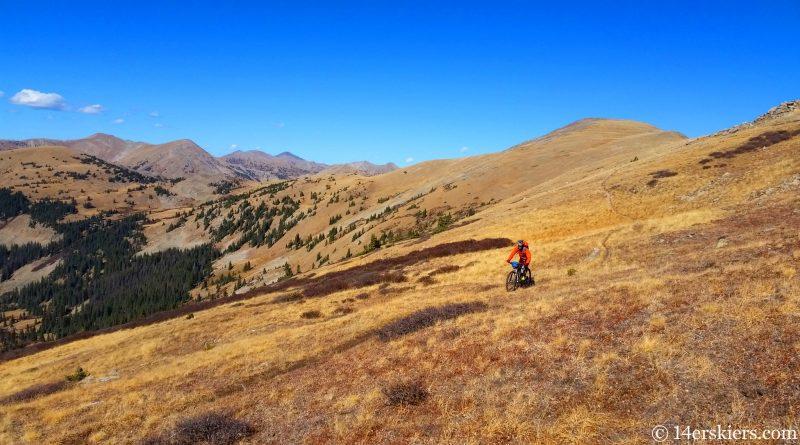 TBT: Mountain biking Canyon Creek Trail near Whitepine – then and now