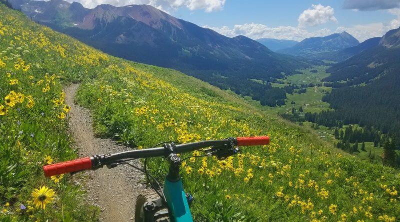 July mountain biking in Crested Butte