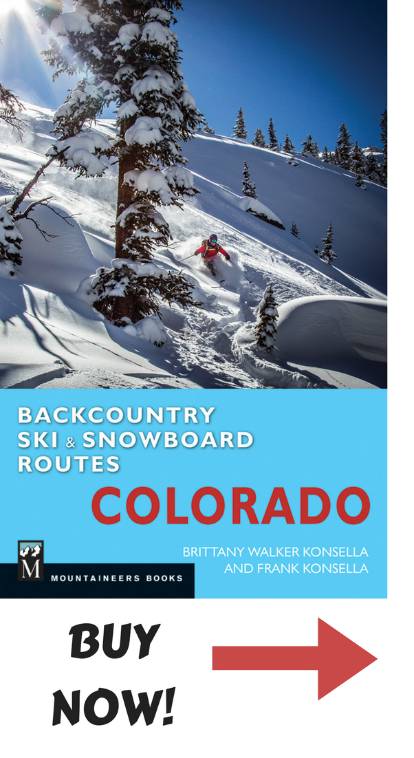 Colorado backcountry skiing guidebook
